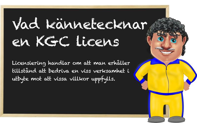 KGC licens casinon