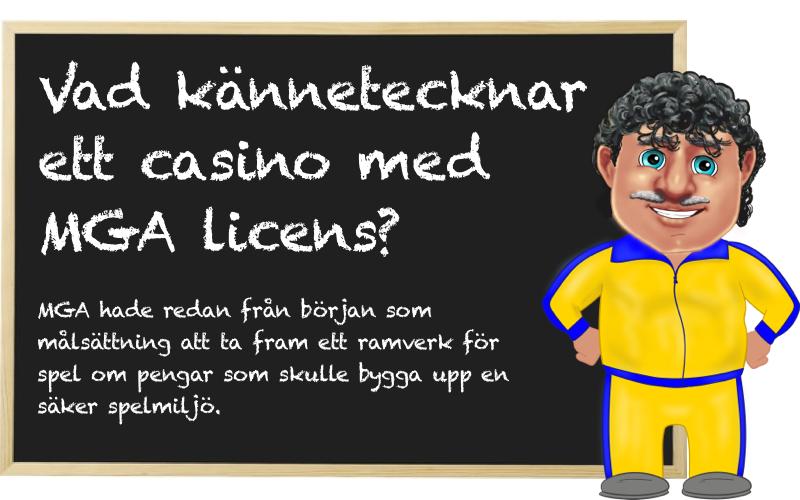 MGA licens casino