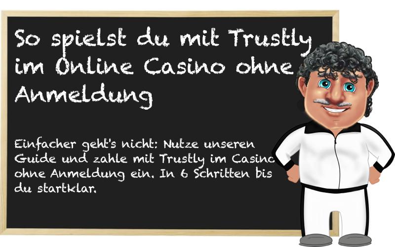 Keine Anmeldung im Casino